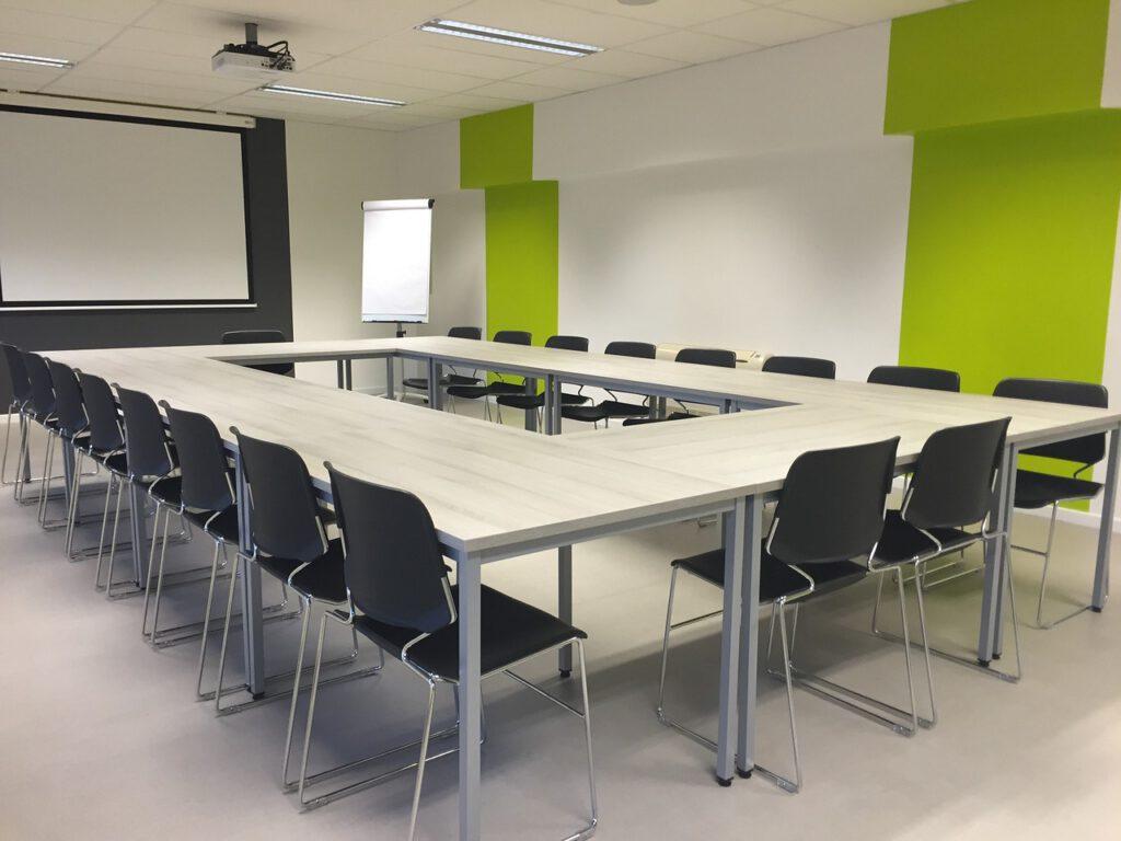 meeting, modern, room