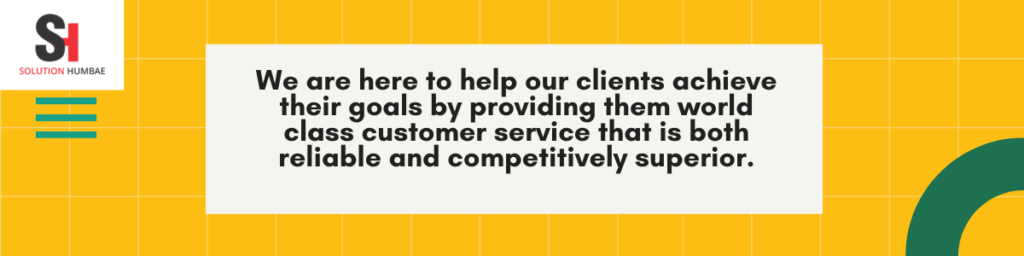 Solution Humbae - Services